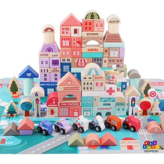 Set-cuburi-Oraselul-cu-blocuri-din-lemn-115pc-vehicule