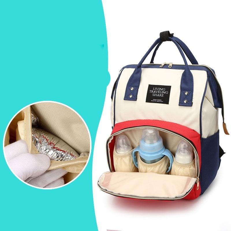 Geanta Rucsac compartimentat pentru mame cu bebelusi