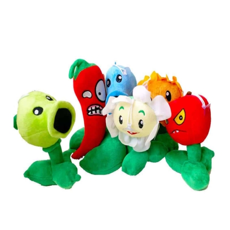 Jucarii de plus Plants vs Zombies 6 set 20cm