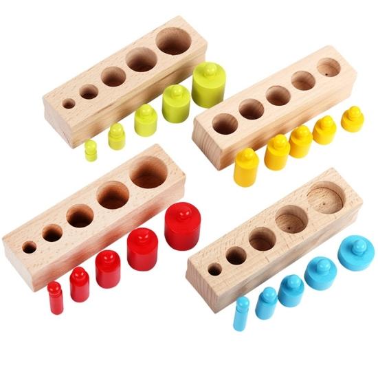 set-cilindrii-lemn-greutati-