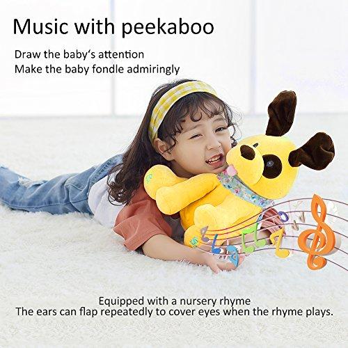 Jucarie plus muzicala Catelusul Cucu Bau Peek a Boo
