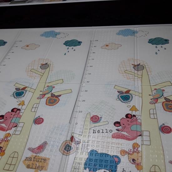Covor de joaca pentru copii tip spuma pliabil XPE 180 x 200cm