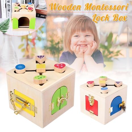 Cub-din-lemn-activitati-Montessori-Incuie-si-Descuie