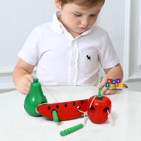 Joc-snuruit-din-lemn-pentru-copii-Set-3-fructe