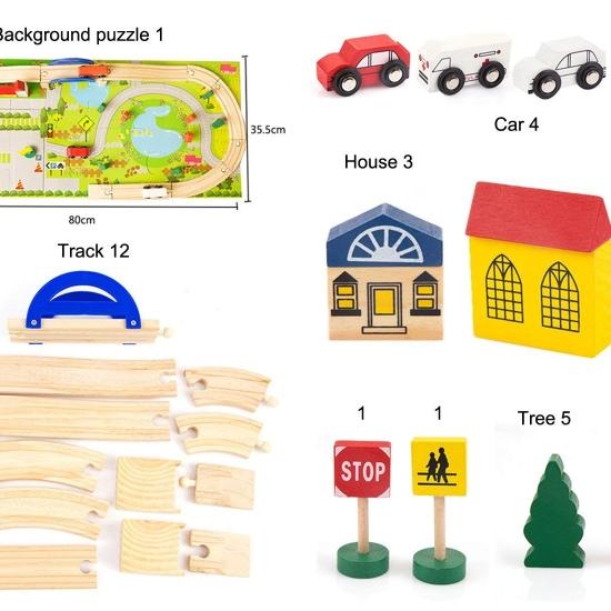 Jucarie-circuit-din-lemn-cu-masini-si-puzzle-40-piese