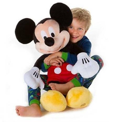 Jucarie plus Mascota Mickey Mouse copii 50 cm