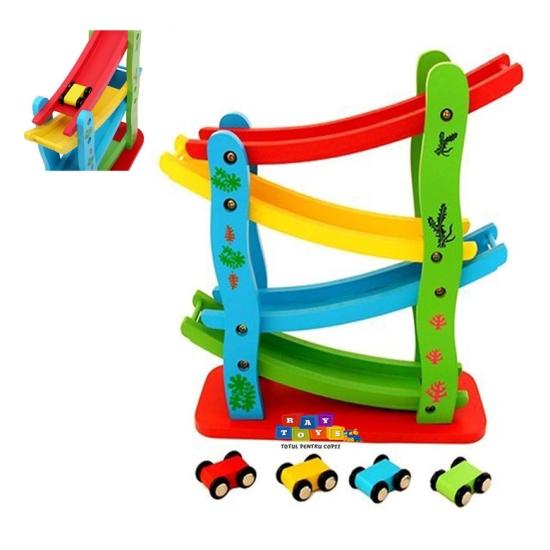 jucarie-lemn-pista-cu-raliu-si-masinute-miniature5