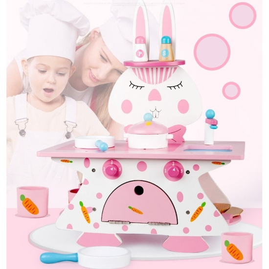 Mini-Bucatarie-din-lemn-cu-accesorii-Rabbit-Kitchen