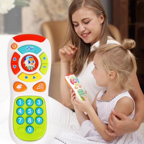 Telecomanda de jucarie cu sunete Hola Toys