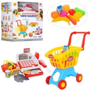 Mini Market cu casa de marcat si carucior Magazinul