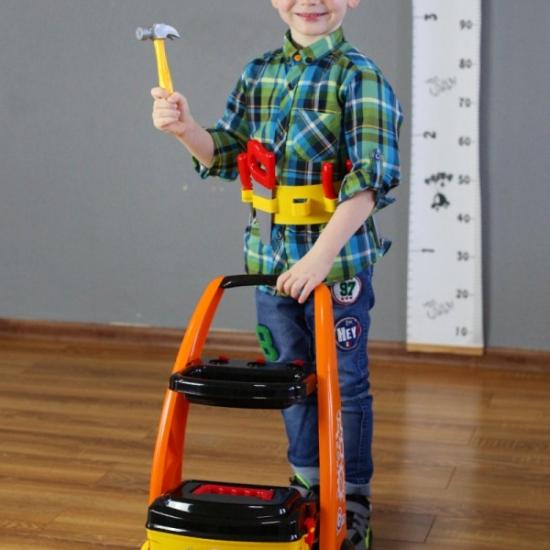 Jucarie Set scule copii Micul muncitor Technic