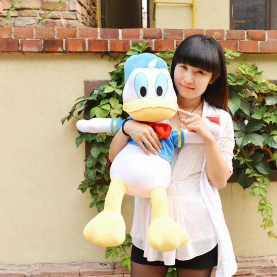 Donald Duck jucarie plus pentru copii 50 cm