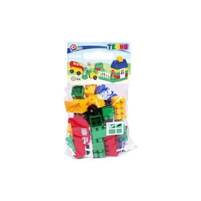 Cuburi constructii Lego 44 piese Technok