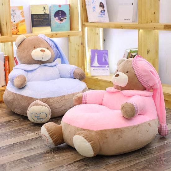 Fotoliu din plus Ursuletul Teddy cu caciulita Jumbo