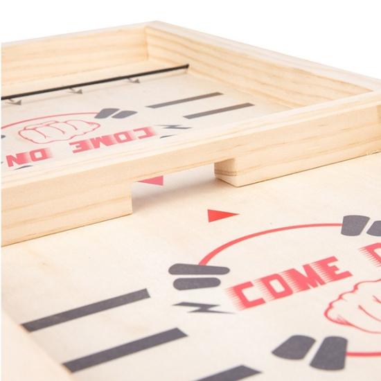 Joc Montessori de masa din lemn Joc Hockey-Sah