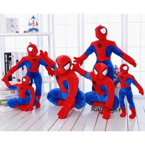 Jucarie plus Mascota Spiderman Picioare indoite Jumbo 95 cm