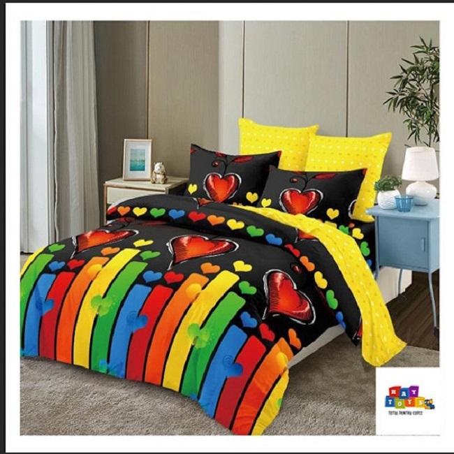 Lenjerie de pat Rainbow Finet 6 piese