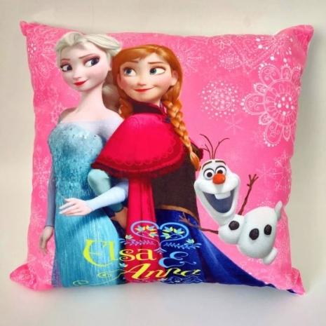 Perna din plus copii roz Anna Elsa si Olaf Frozen