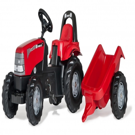 Tractor cu remorca Rolly Kid Case 1170 CVX