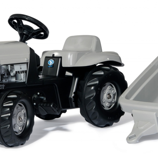 Tractor cu remorca Rolly Kid Little Grey Fergie