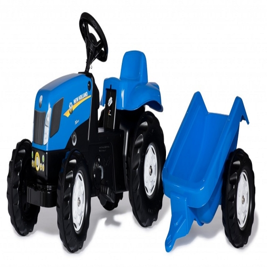 Tractor cu remorca Rolly Kid NEW HOLLAND