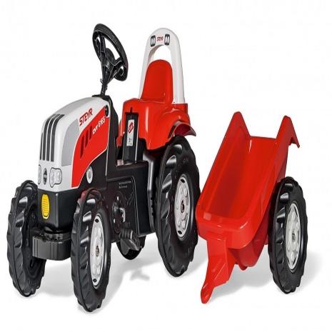Tractor cu remorca Rolly Kid Steyr CVT