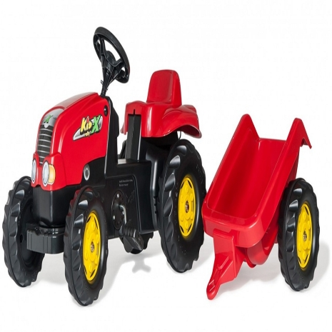 Tractor cu remorca Rolly Kid X
