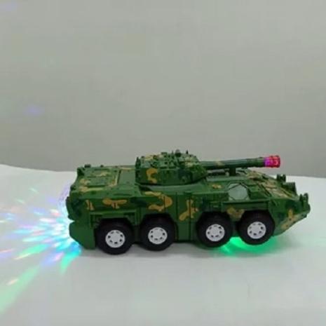 Jucarie cu sunete si lumini Tank Transformers