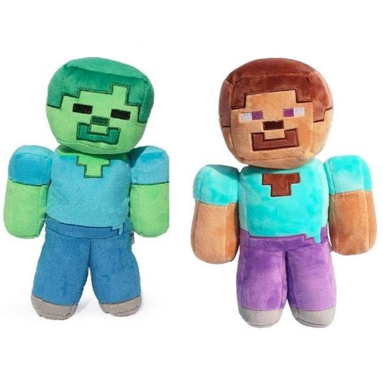 Jucarie plus Minecraft Zombie Figurine copii 25 cm