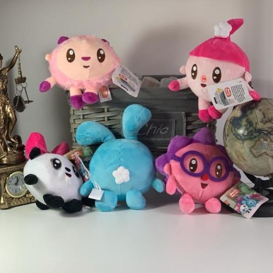 Jucarii plus Set 5 BabyRiki mascote desene animate