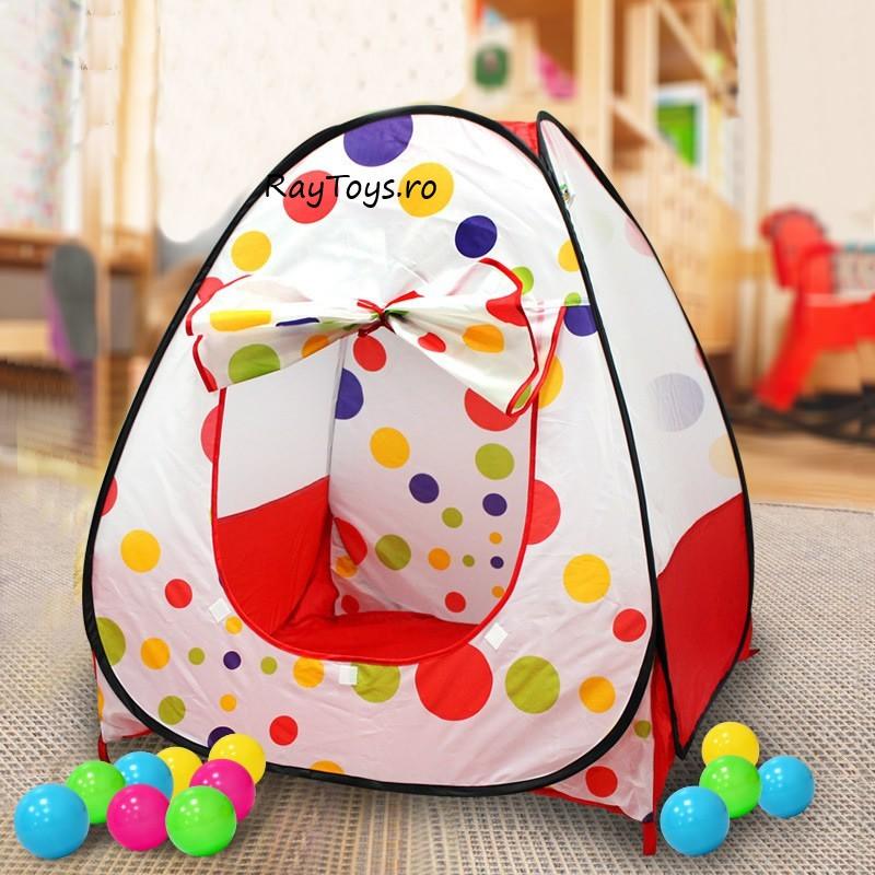 cort-de-joaca-piramida-cu-buline-pentru-copii