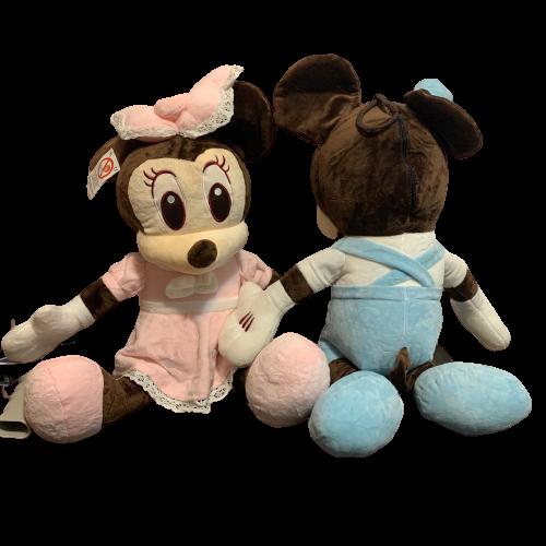 set-minnie-si-mickey-mouse-bleu-roz-din-plus