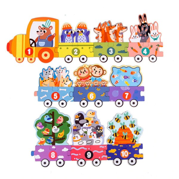 set-puzzle-din-lemn-educative-tren-si-animale