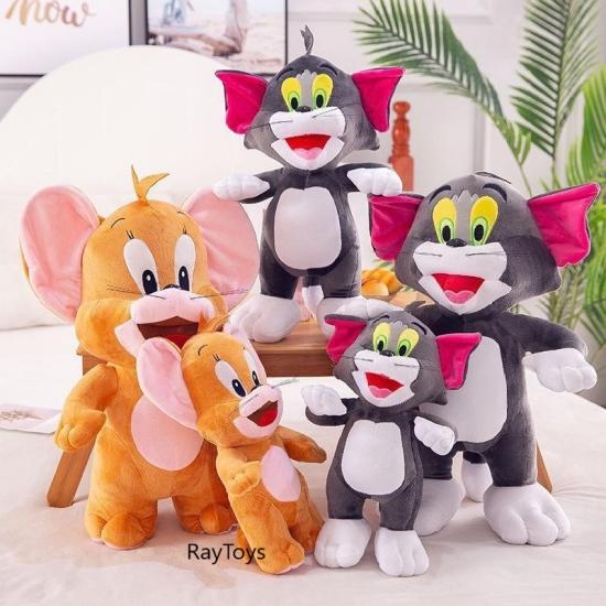Jucarie plus Set Tom si Jerry Pisica si soricelul 30 cm