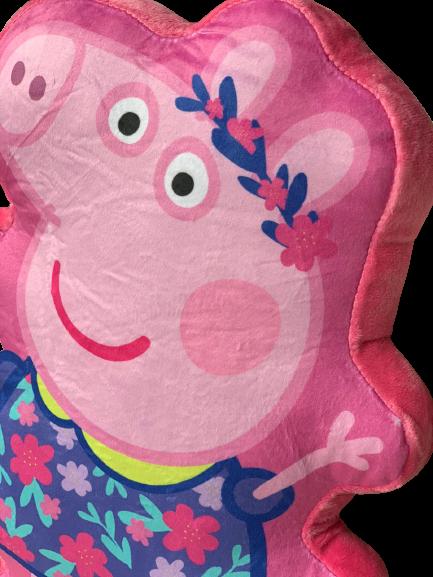 Perna din plus 3D Peppa Pig roz 35 cm