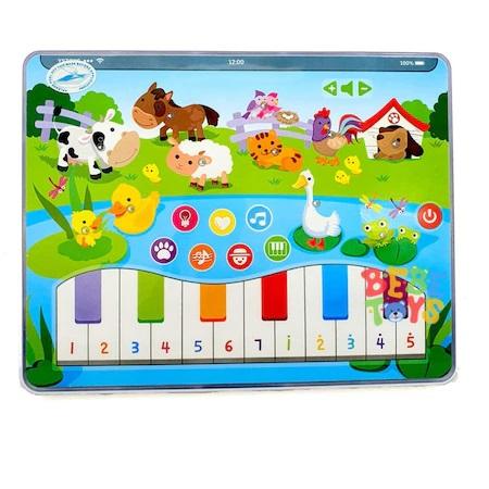 Tableta interactiva cu muzica de pian si 10 sunete