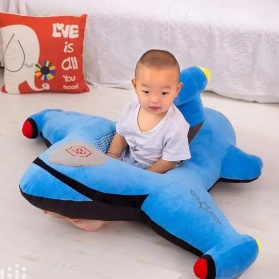 Fotoliu din plus bebelusi Avionul Colorat Sit Up