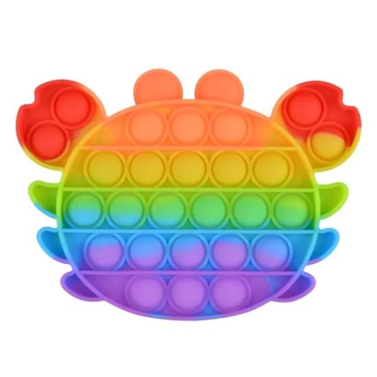 Jucarie Pop IT Melcul antistres Push Pop Bubble