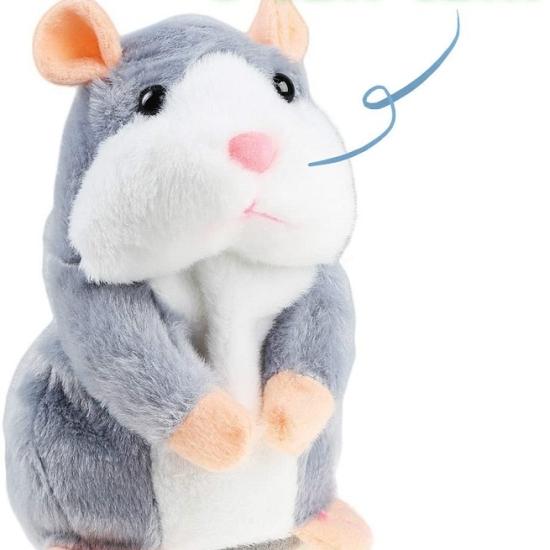 Jucarie interactiva Hamsterul vorbitor din plus