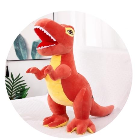 Jucarie plus Dinozaur Roz Mascota pentru copii