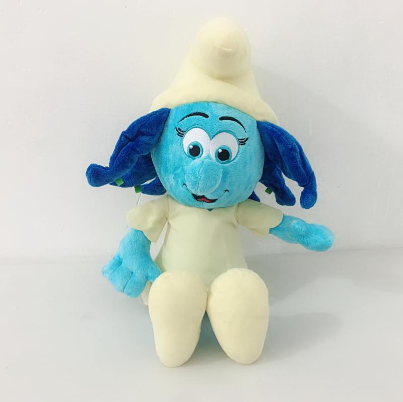 Jucarie plus Strumfita din plus Mascote Smurfs 50 cm