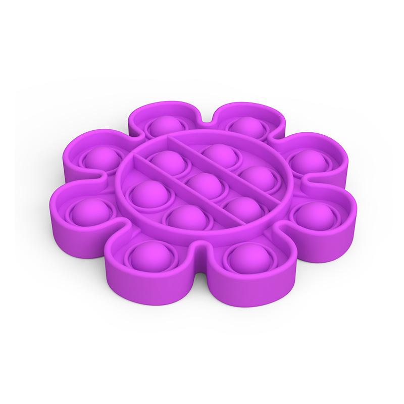 Jucarie senzoriala antistres silicon Forme Push Pop Bubble