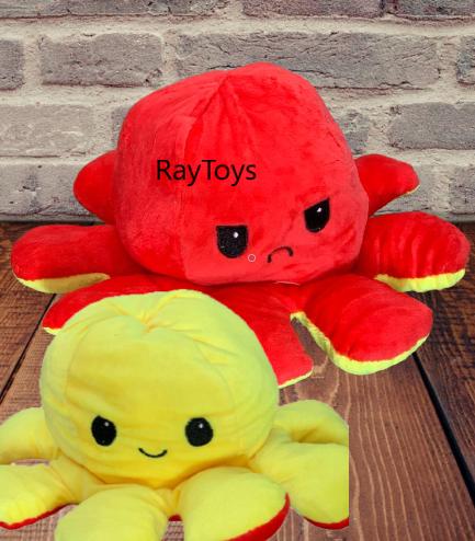 Jucarii plus Caracatita reversibila cu 2 fete Octopus