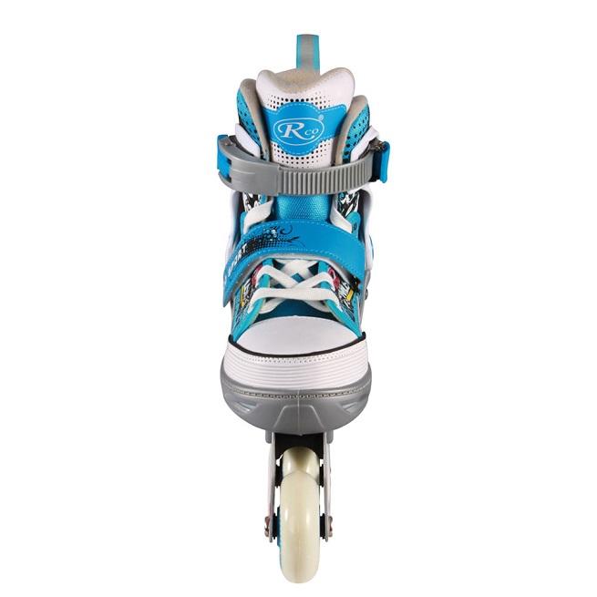 Role reglabile Albastre din aluminiu Model Adidas