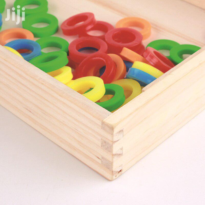 Tabla educativa cu 2 fete Invatam Matematica Donuts