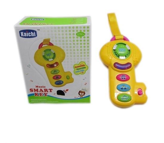 Jucarie interactiva Cheia cu muzica bebelusi Kaichi
