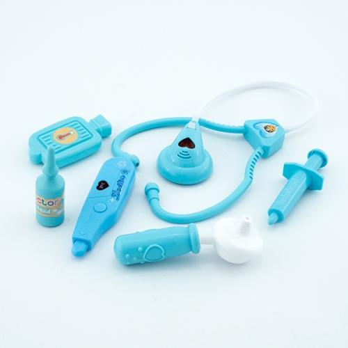 Trusa de doctor cu 10 accesorii cu efecte sonore si luminoase