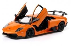Masina metalica Lamborghini portocaliu Vehicul copii