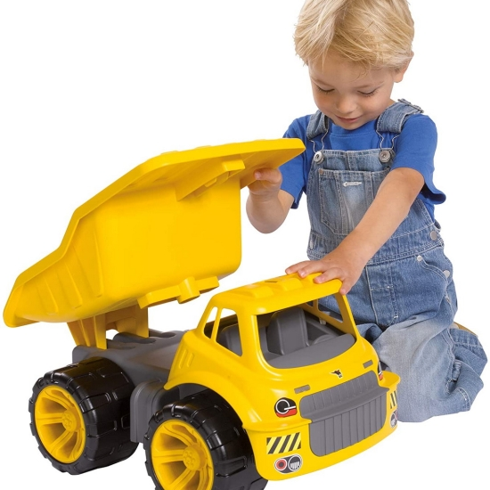 Jucarie Camionul cu roti din cauciuc Vehicul copii Simba