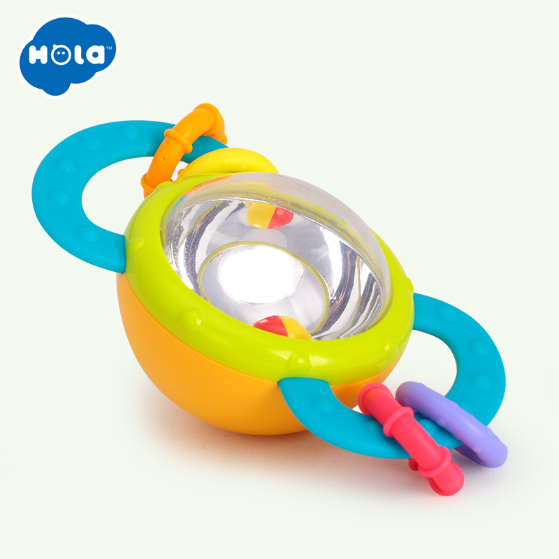 Jucarie bebe zornaitoare cu inele pentru dentitie Hola